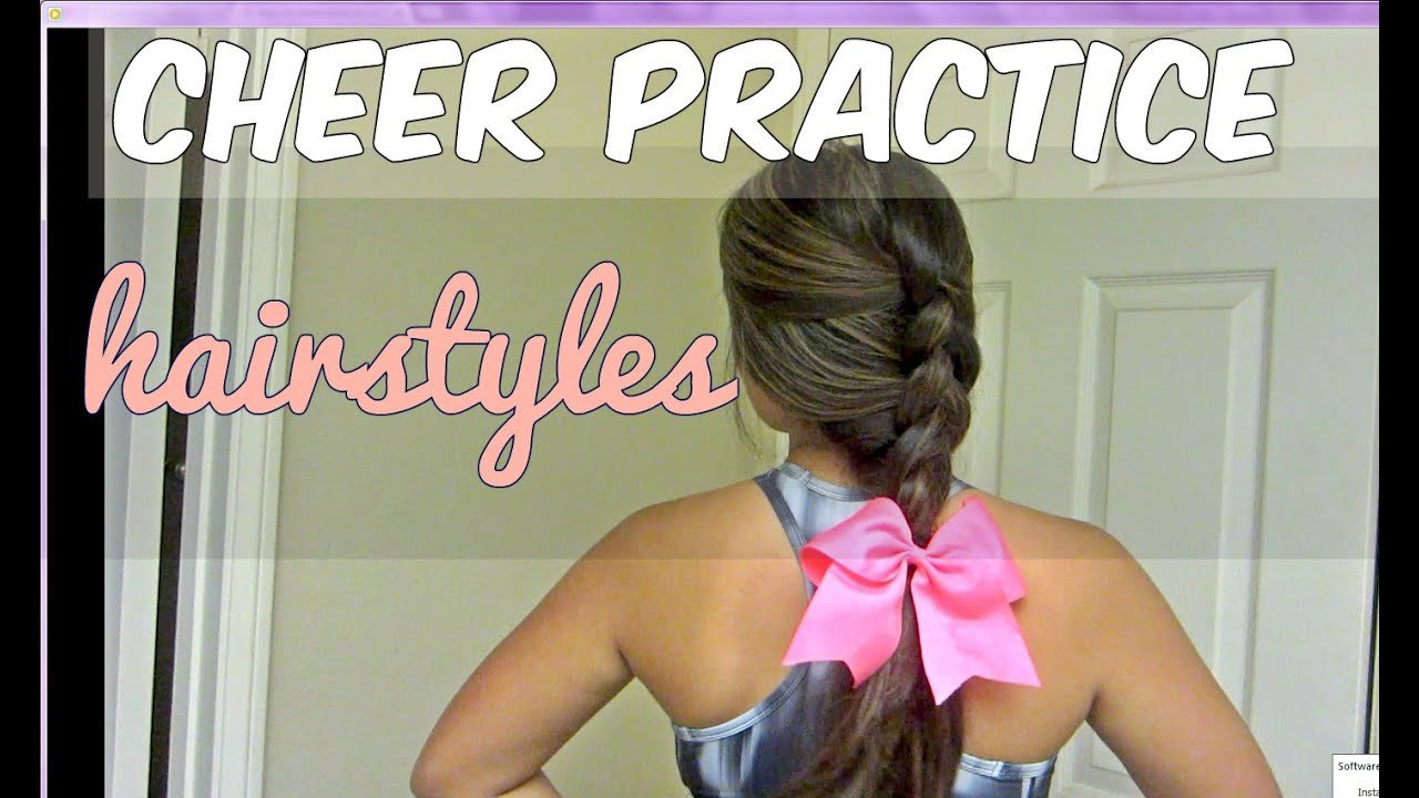 New 5 Basic Cheer Hairstyles Youtube Ideas With Pictures