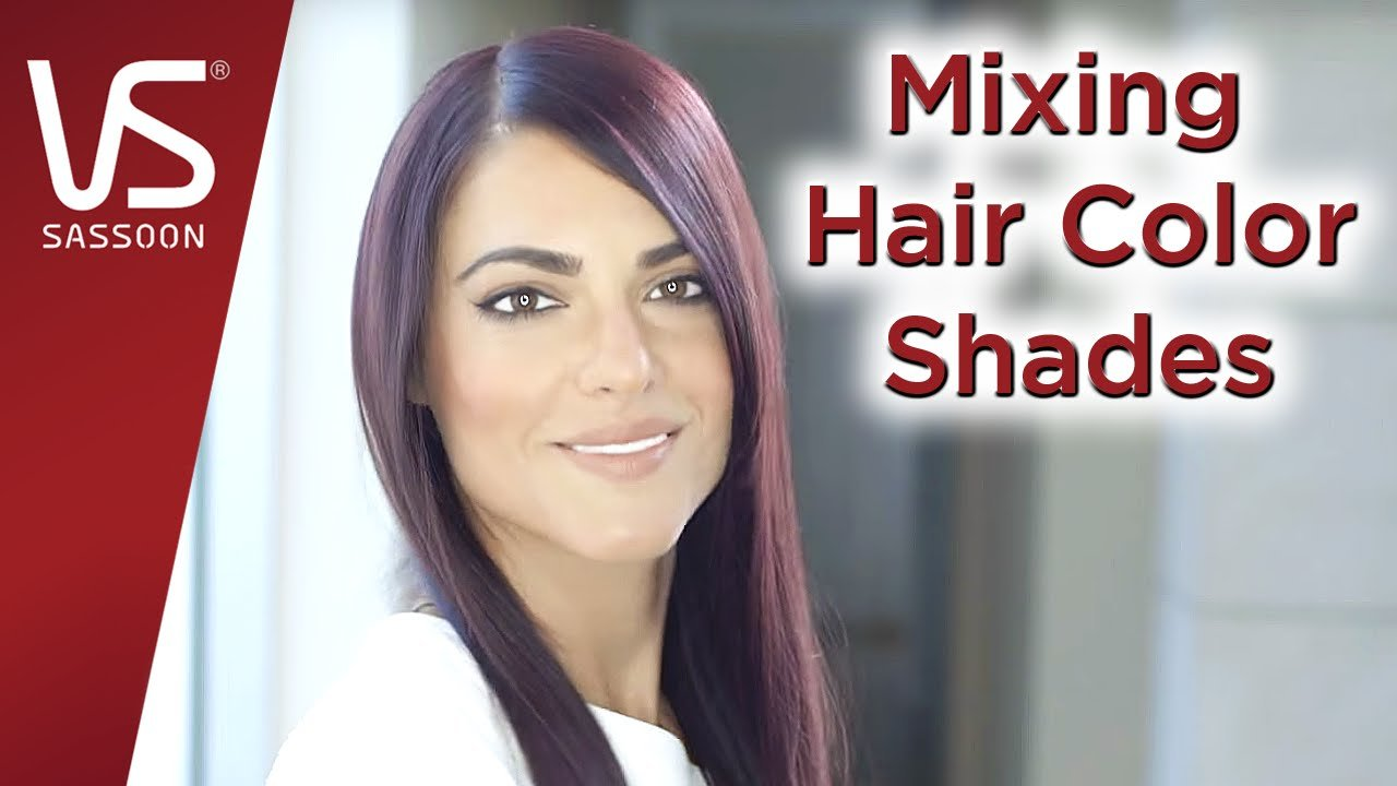 New Salonist Hair Color Tips Mixing Hair Color Shades Vidal Sassoon Youtube Ideas With Pictures