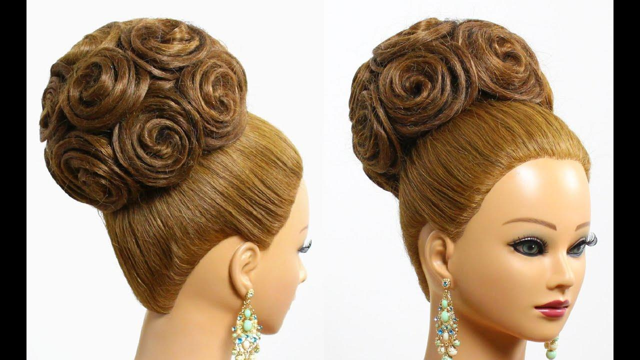 New Hairstyle For Long Hair Tutorial Bridal Updo With Ideas With Pictures