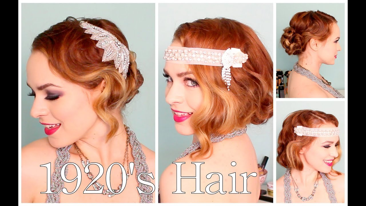 New 1920 S Faux Bob And Updo Tutorial Youtube Ideas With Pictures