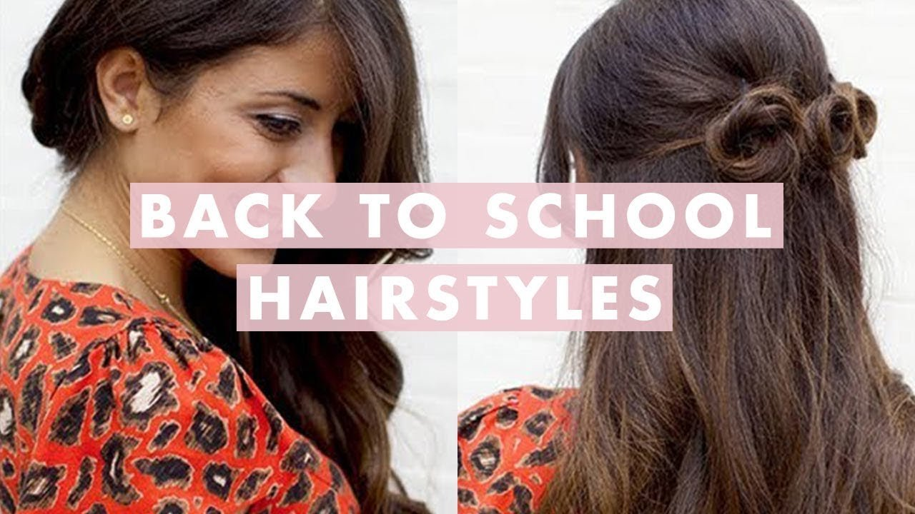 New Back To School Hairstyles Youtube Ideas With Pictures