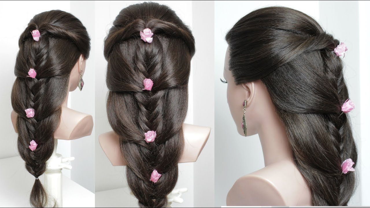 New Cute Easy Hairstyles For Long Hair Tutorial Youtube Ideas With Pictures