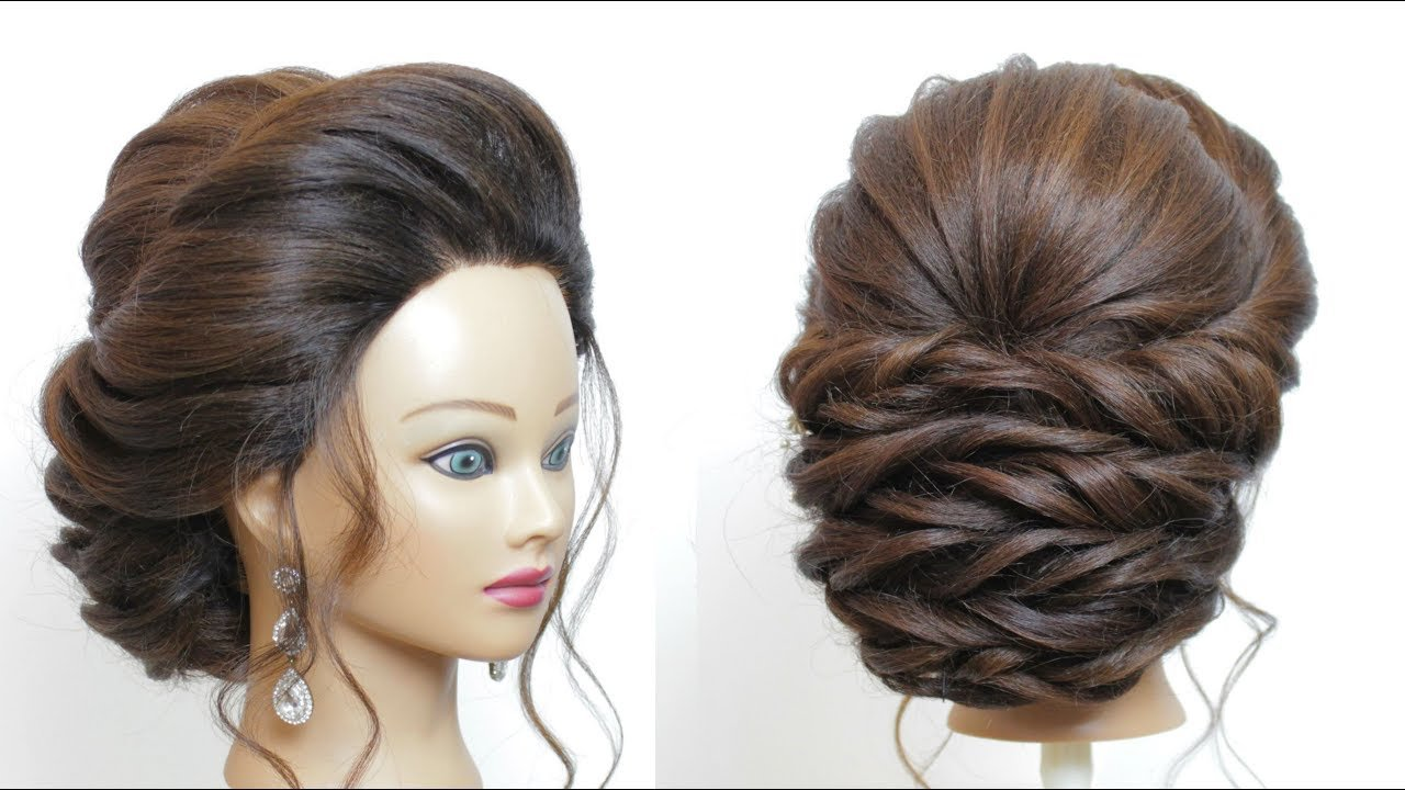 New Bridal Hairstyle For Long Hair Step By Step Perfect Ideas With Pictures