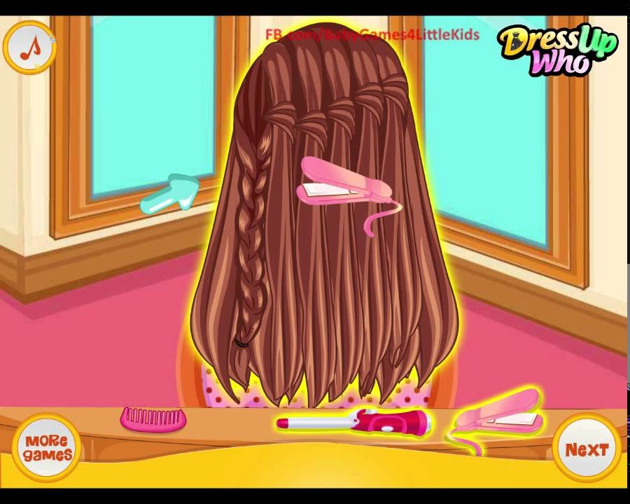 New Barbie Hairstyles Game For Girls School Braided Ideas With Pictures