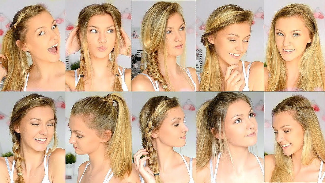 New 10 Easy Back To School Hairstyles Youtube Ideas With Pictures Original 1024 x 768