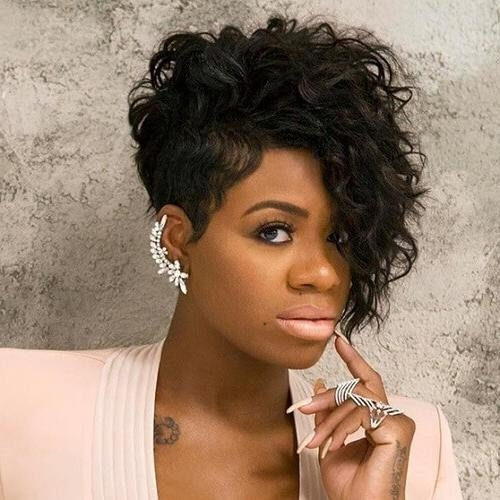 New 15 Collection Of Short Hairstyles For Black Women With Fat Ideas With Pictures
