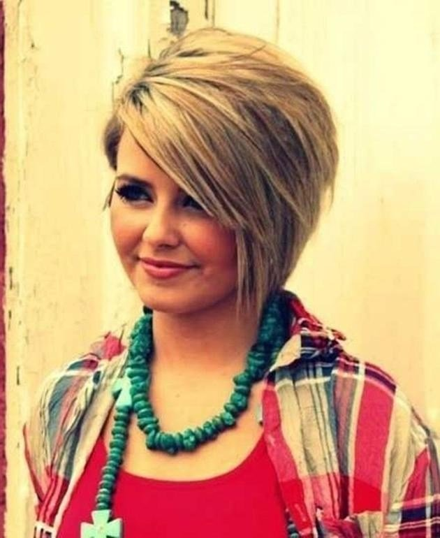 New 2019 Popular Long Hairstyles For Fat Faces And Double Chins Ideas With Pictures