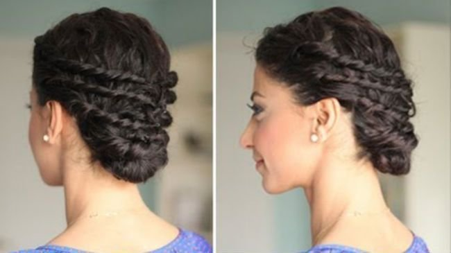 New Naturally Curly Updo For Prom Naturallycurly Com Ideas With Pictures