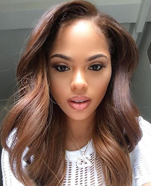 New Best Hair Colors For Dark Skin Tones From Tan To Bronze Ideas With Pictures