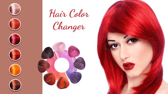 New Hair Color Changer Android Apps On Google Play Ideas With Pictures