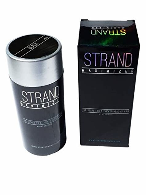 New Strand Maximizer Color Powder Conceals Hair Loss Ideas With Pictures
