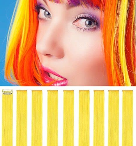 New Rhyme Yellow 20 Inch 9Pcs Set Straight Colorful Colored Ideas With Pictures