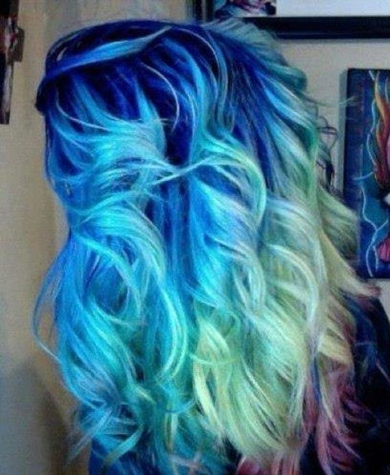 New Items Similar To Colored Hair Chalk Temporary Color Ideas With Pictures