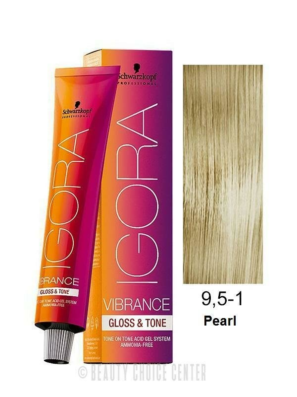 New Schwarzkopf Igora Vibrance Gloss Tone Hair Color 9 5 1 Ideas With Pictures