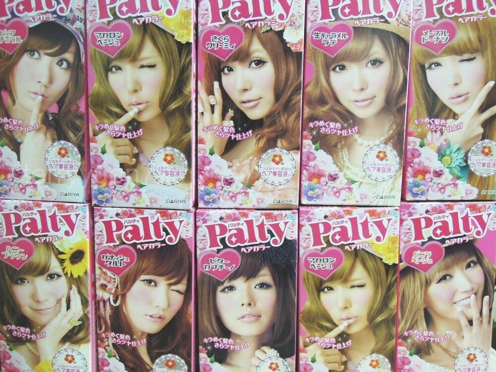New Dariya Palty Trendy Hair Color Dye Dying Kit Japan Ebay Ideas With Pictures