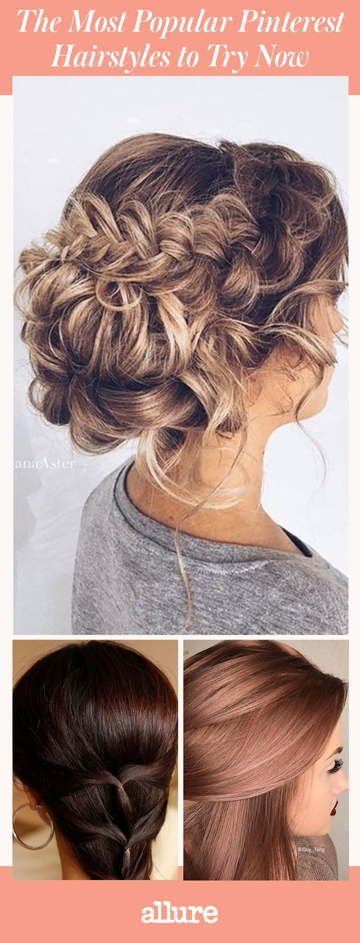 New The Most Popular Pinterest Hairstyles To Try Now Allure Ideas With Pictures