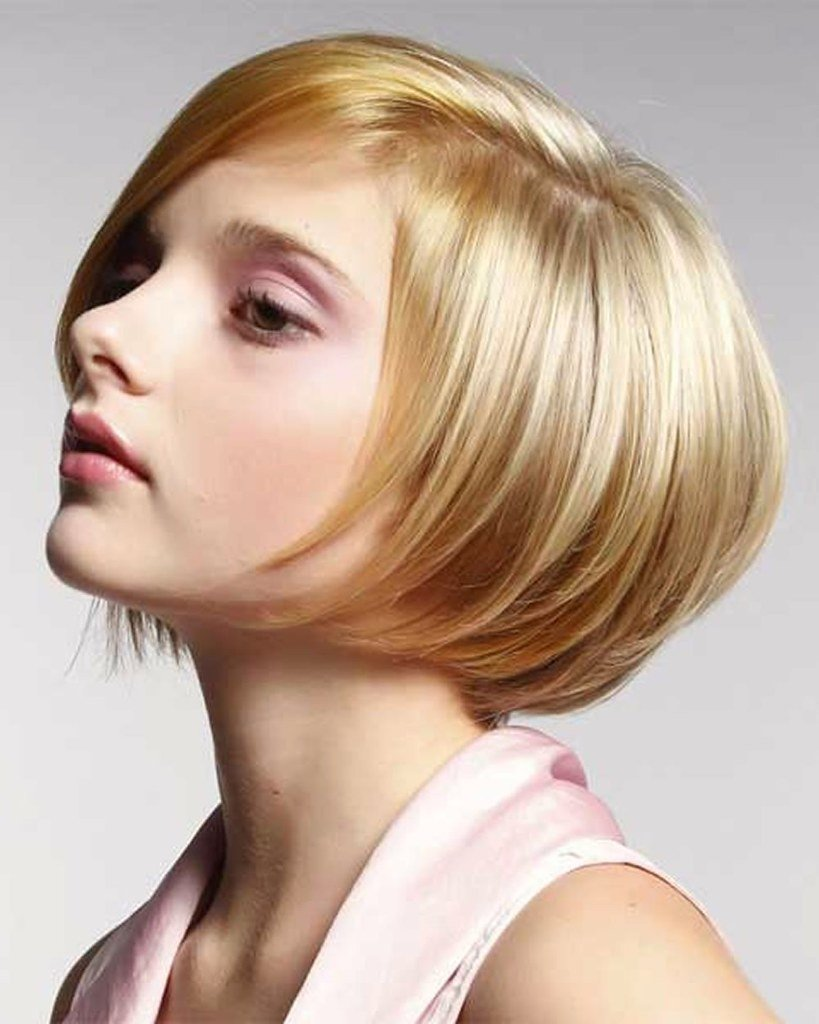New Short Bob Hairstyles Haircuts For Women 2018 2019 Blonde Ideas With Pictures Original 1024 x 768