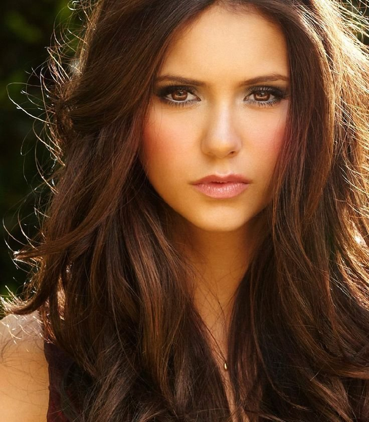 New Nina Dobrev Love Her Hair And Make Up Hair Pinterest Ideas With Pictures