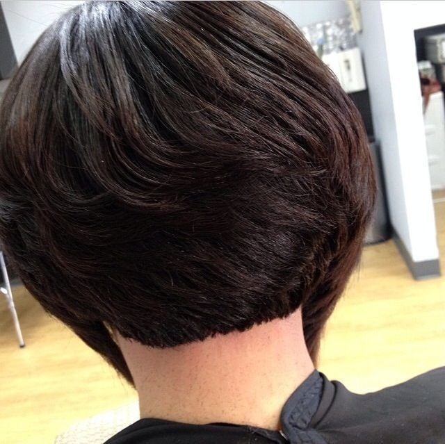 New Short Bob Hairstyles For Black Women Back View Hair Ideas With Pictures Original 1024 x 768