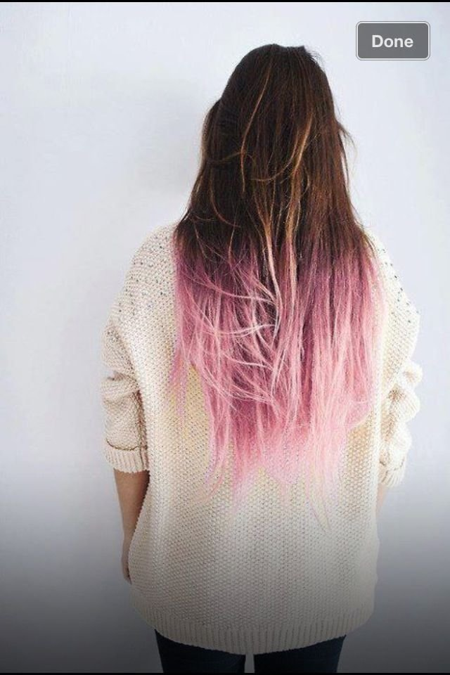 New 25 Best Ideas About Colored Hair Ends On Pinterest Dyed Ideas With Pictures