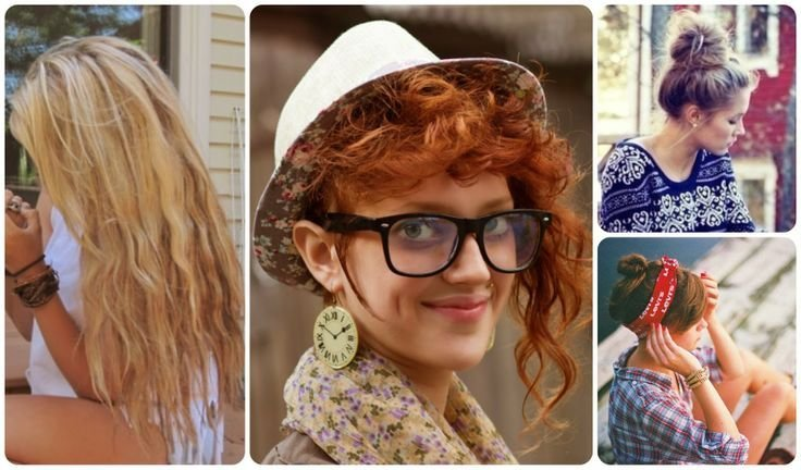 New Hipster Girl Hairstyle Peinados Hairstyle Beauty Ideas With Pictures