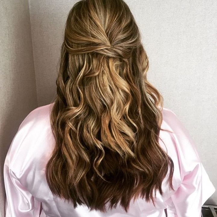 New 17 Best Ideas About Half Up Curls On Pinterest Hair Half Ideas With Pictures
