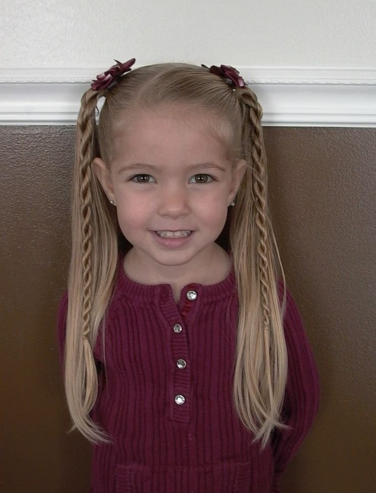 New Only Best 25 Ideas About Easy Little Girl Hairstyles On Ideas With Pictures