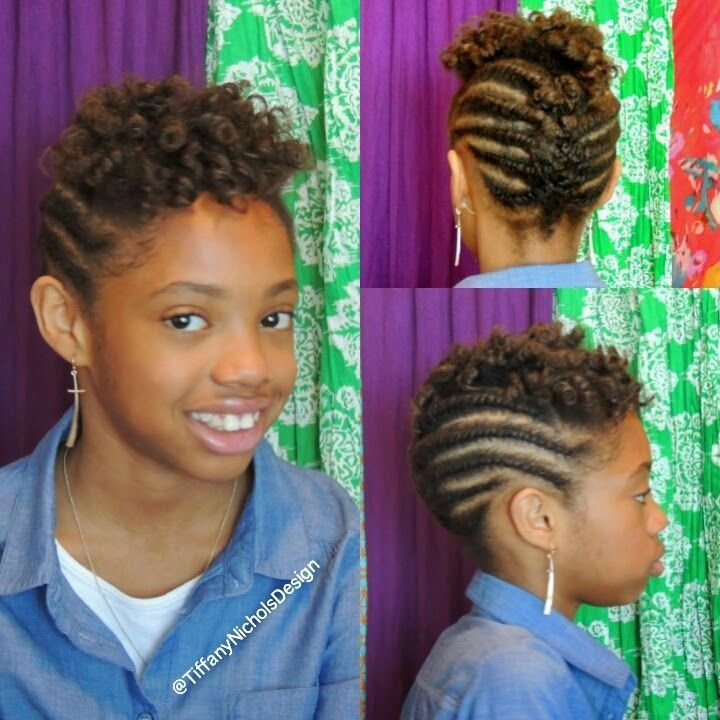New Natural Hairstyle For Kids Flat Twist And Roller Set Ideas With Pictures