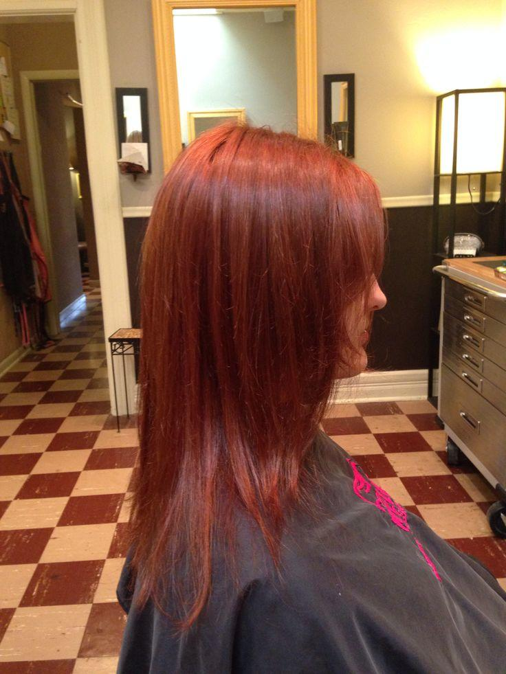 New Red Head Red Hair Color From Wella Koleston Perfect Ideas With Pictures