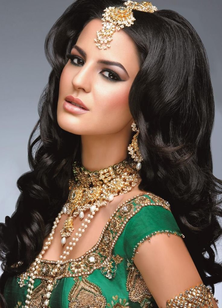 New Big Hair Indian Wedding Style Via Asiana Wedding My Ideas With Pictures