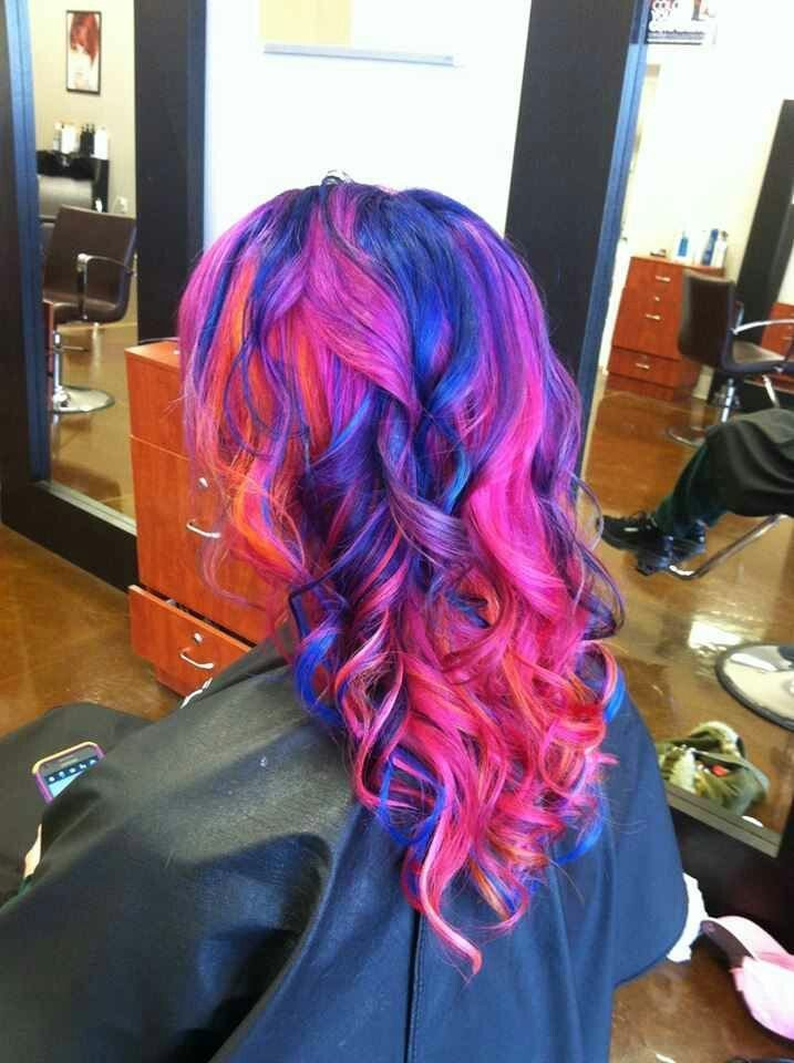 New Pravana V*V*D Colors Hair Dye Autism Awareness Pink Ideas With Pictures
