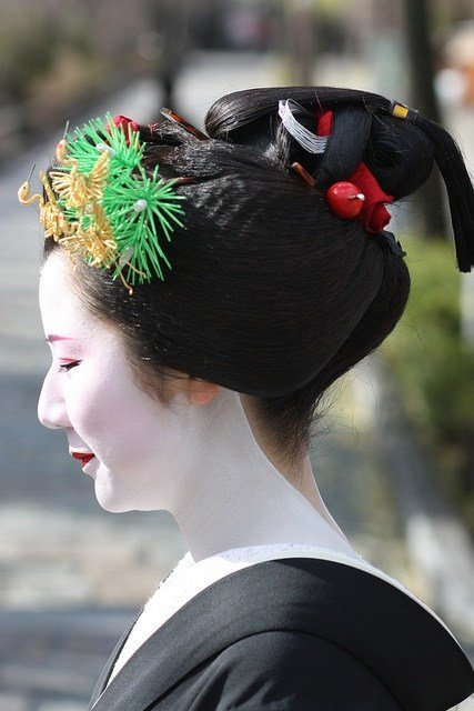 New 66 Best Images About Japanese Traditional Hairstyles On Ideas With Pictures