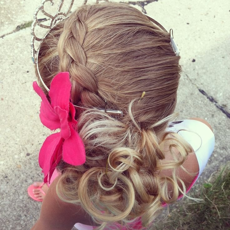 New Simple Updo For Your Little Girl Beauty Pinterest Ideas With Pictures