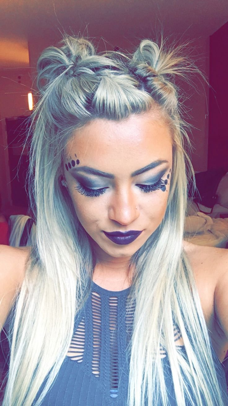 New 25 Best Ideas About Rave Hair On Pinterest Festival Hairstyles Rave Makeup And Festival Ideas With Pictures