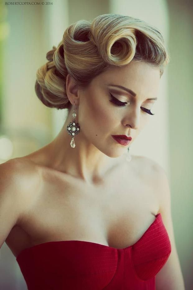 New 25 Best Ideas About Victory Rolls Updo On Pinterest Ideas With Pictures