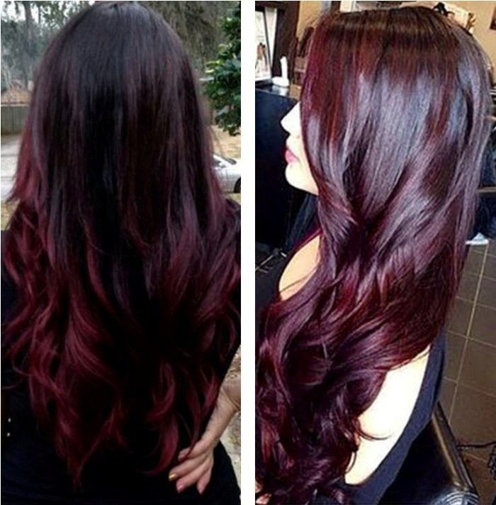 New 1000 Ideas About Black Cherry Hair Color On Pinterest Ideas With Pictures