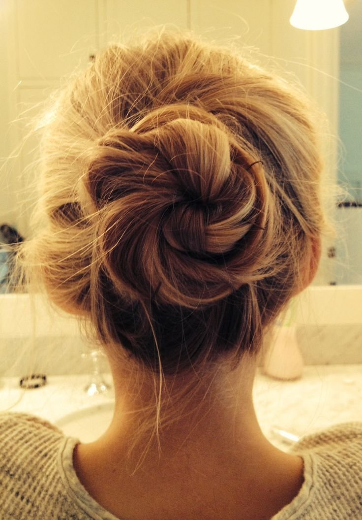 New Romantic Messy Hairstyles For All Women Bun Hair Ideas With Pictures