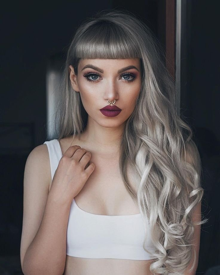 New 1000 Ideas About Colored Bangs On Pinterest Dyed Bangs Ideas With Pictures