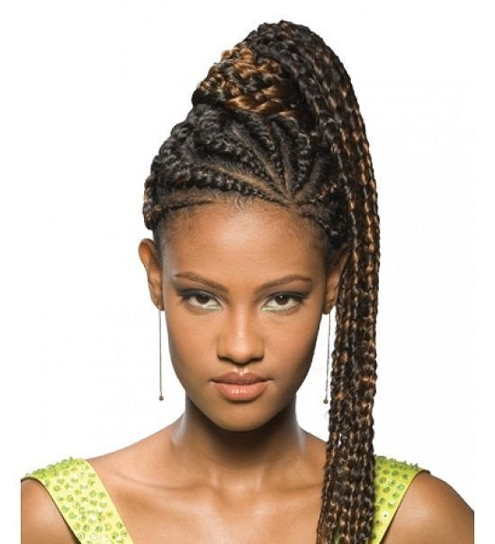New Pictures Of African American Braided Ponytail New Ideas With Pictures