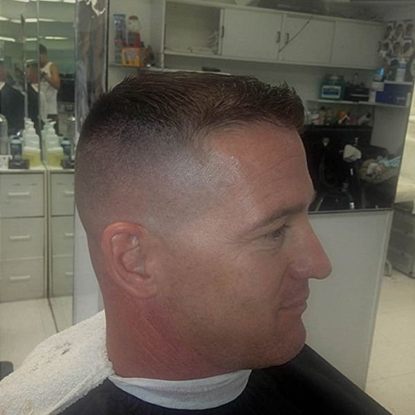 New Military Fade Barbershops Pinterest Military Fade Ideas With Pictures