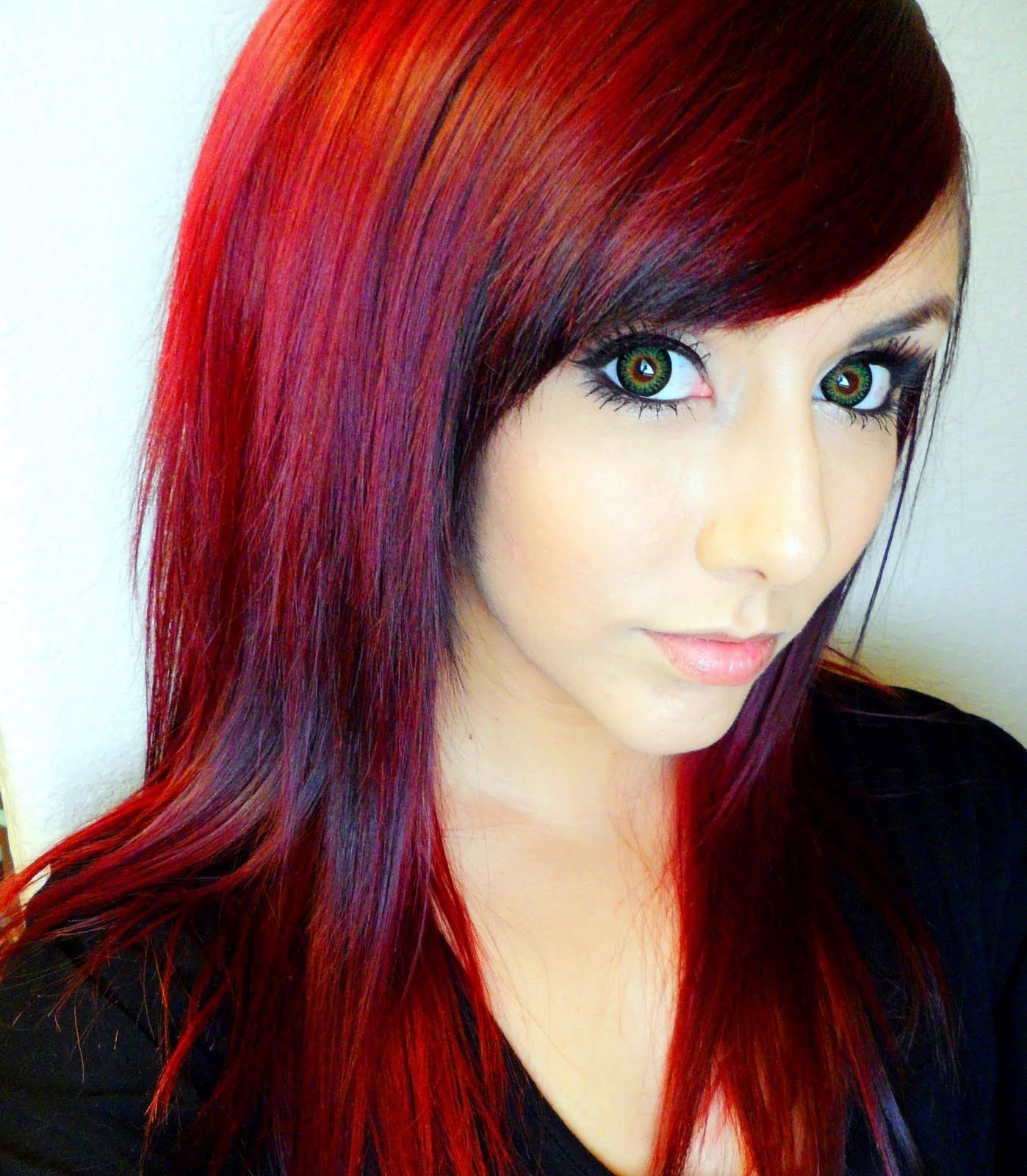 New Red Hair Color Ideas Technicolor My Hair Color How To Ideas With Pictures