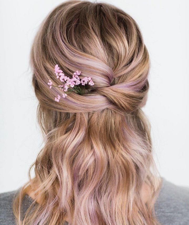 New Beautiful Loose Braid Half Up And Half Down Hairstyle For Ideas With Pictures