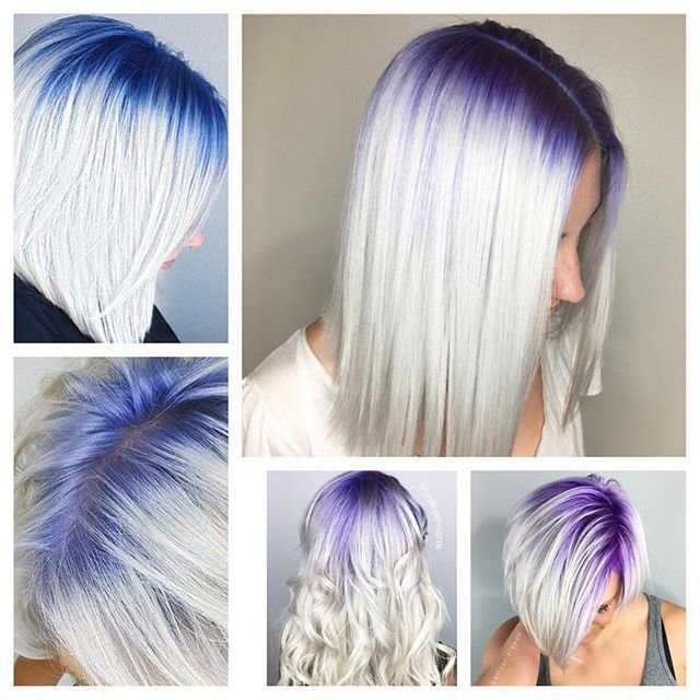 New Best 25 Grey Hair With Roots Ideas On Pinterest Colored Ideas With Pictures