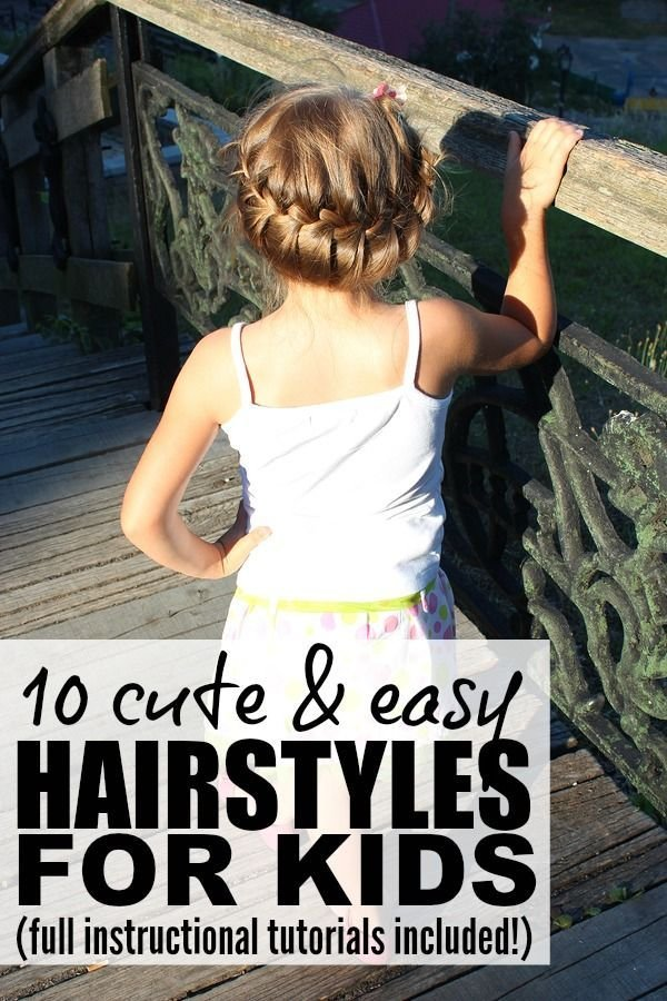 New 10 Cute And Easy Hairstyles For Kids Easy Hairstyles Ideas With Pictures Original 1024 x 768