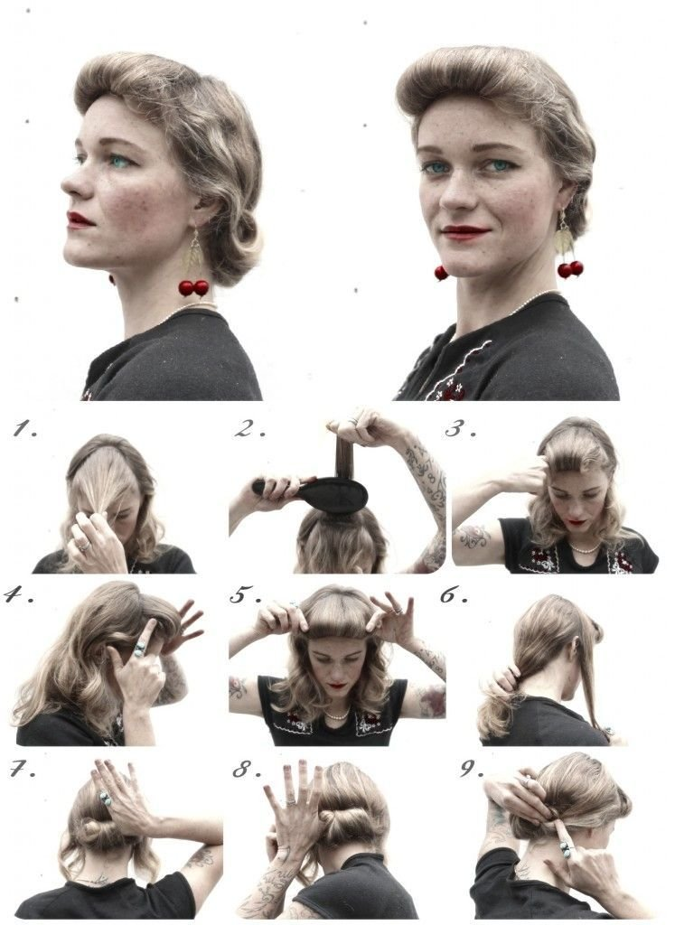 New How To Hair Girl Diy Hair Friday 4 Holiday Ready 1940 S Ideas With Pictures
