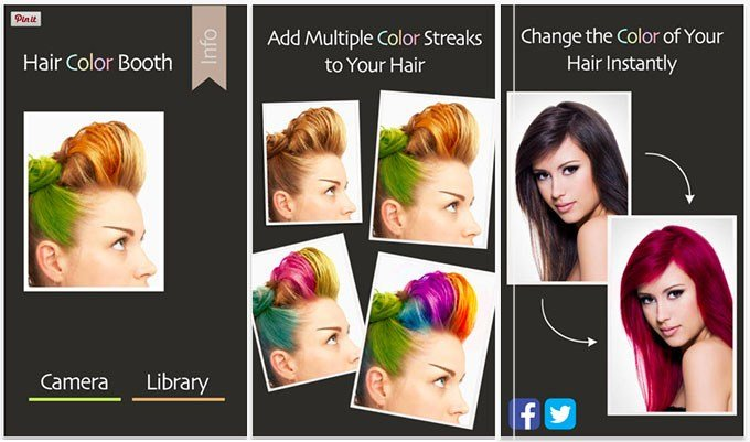 New 3 Fun Apps To Experiment With Your Hair Colour Hair Romance Ideas With Pictures