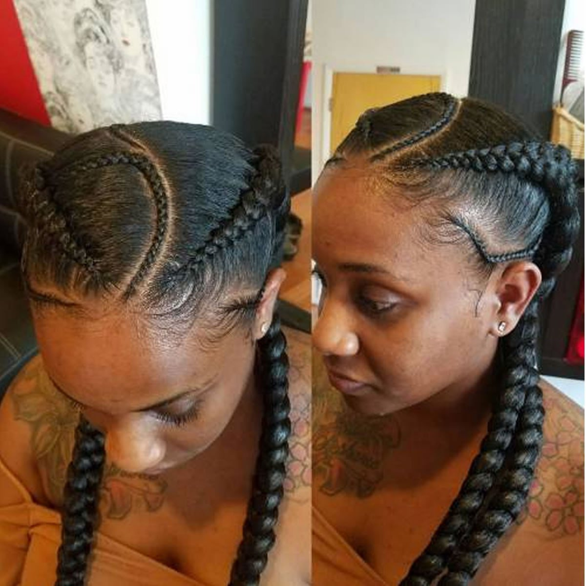 New 25 Incredibly Nice Ghana Braids Hairstyles For All Ideas With Pictures