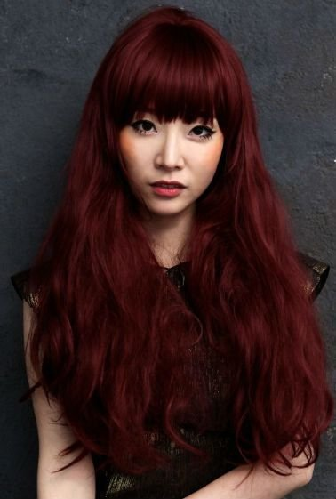 New 40 Dark Red Hair Color Ideas Herinterest Com Ideas With Pictures