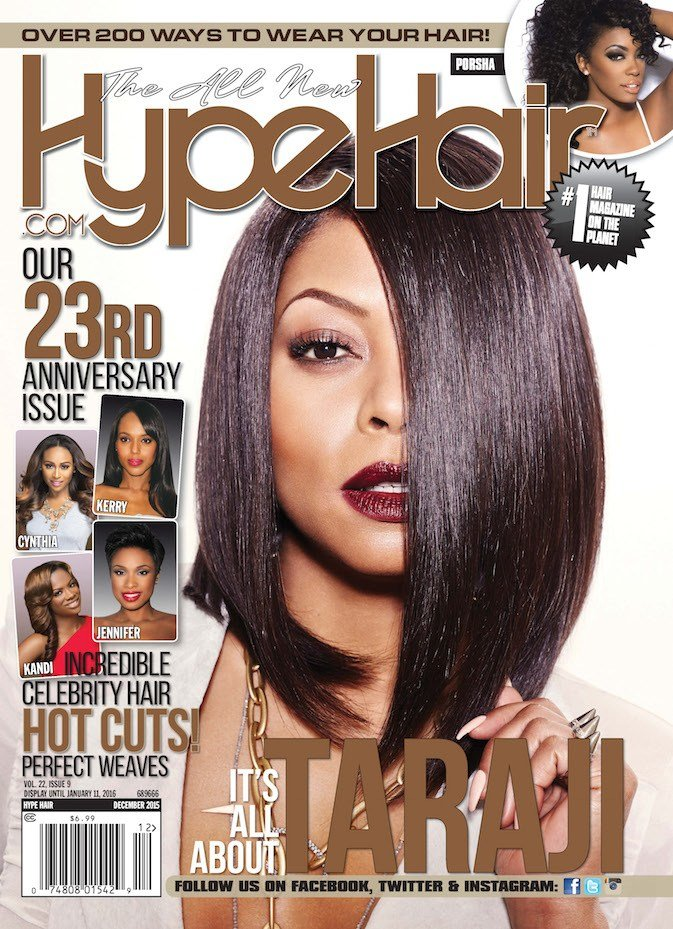New Taraji P Henson Covers Hype Hair December 2015 Ideas With Pictures