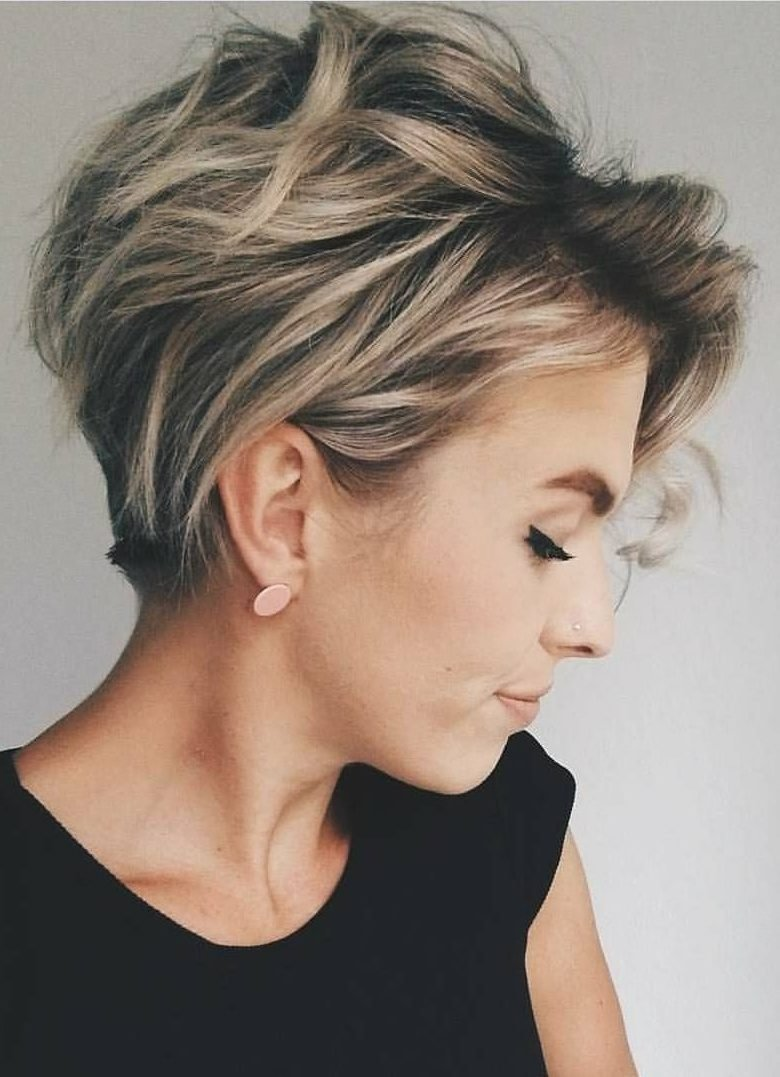 New 17 New Short Hairstyles For 2019 Beautiful Bob Pixie Ideas With Pictures
